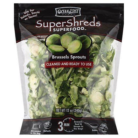 Brussels Sprouts Supershreds - 12 Oz