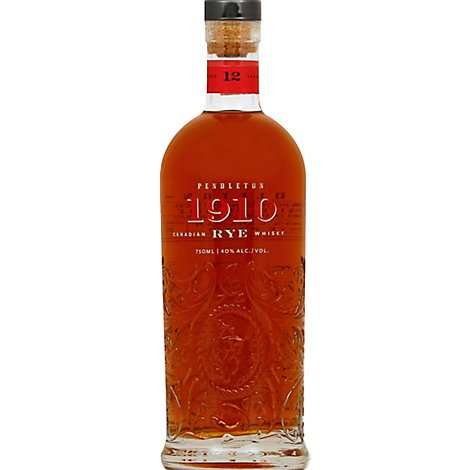 Pendleton 1910 Canadian Rye 80 Proof - 750 Ml