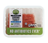 Open Nature Ground Turkey 93% Lean 7% Fat - 16 Oz.