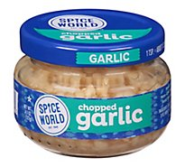 Spice World Garlic Chopped - 4.5 Oz