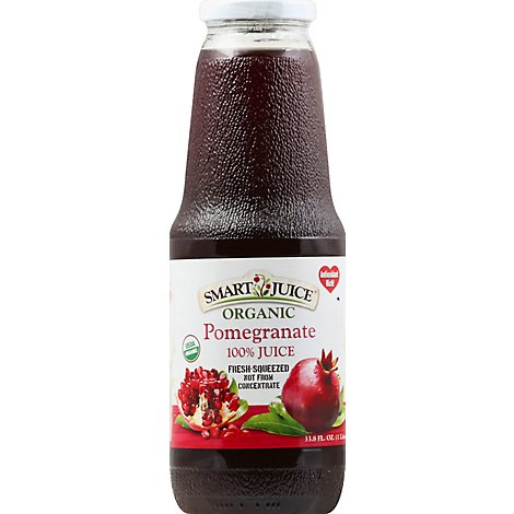 Smart Juice Organic Pomegranate - 33.8 Fl. Oz.