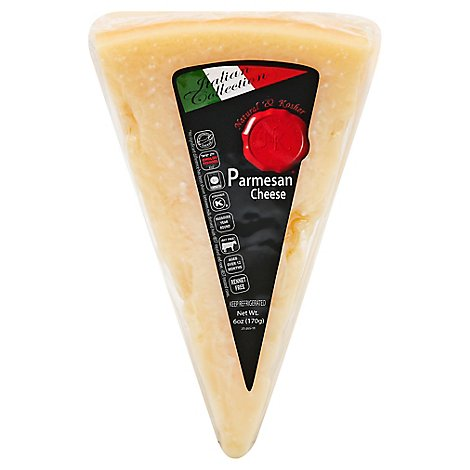 Natural & Kosher Parmesan Wedge - 6 Oz