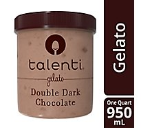 Talenti Gelato Double Dark Chocolate - 1 Quart