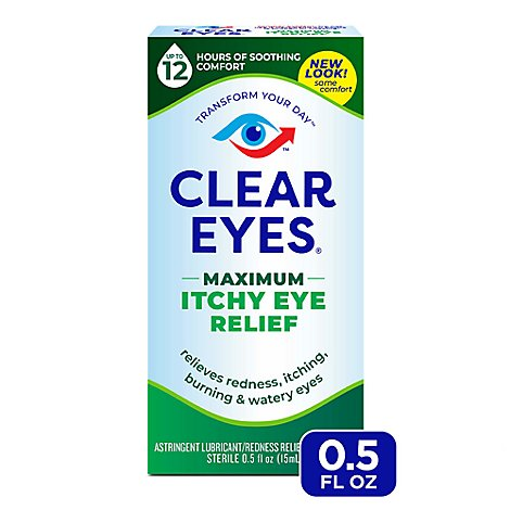 Clear Eyes Max Relief Drops - .5 Fl. Oz.