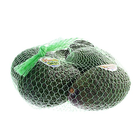 Hass Avocados Prepacked Bag - 6 Count