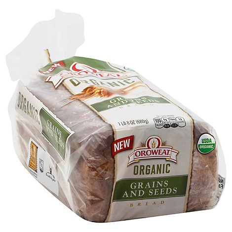 Oroweat Bread Organic Grains And Seeds - 24 Oz