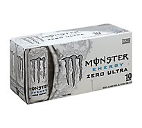 Monster Energy Drink Zero Ultra - 10-16 Fl. Oz.