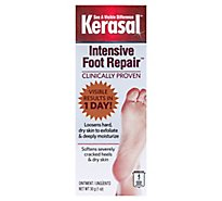 Kerasal Exfoliating Moisturizer Foot Ointment - 1 Oz