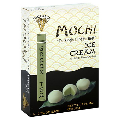Mikawaya Mochi Green Tea Ice Cream - 12 Fl. Oz.