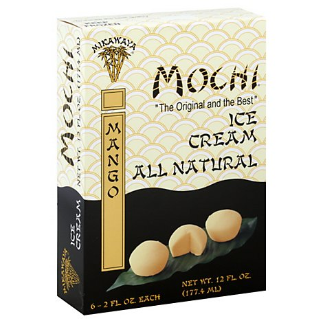Mikawaya Mochi Mango All Natural Ice Cream - 12 Fl. Oz.