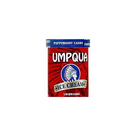 Umpqua Ice Cream Peppermint Candy - 1.75 Quart
