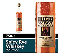 High West Whiskey Double Rye 92 Proof - 750 Ml