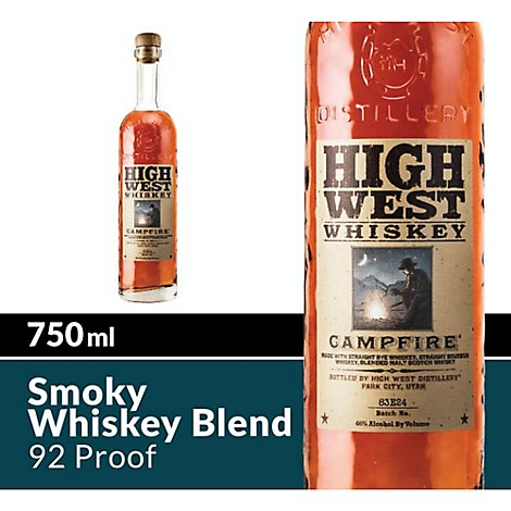 High West Campfire Whiskey Bottle 92 Proof - 750 Ml