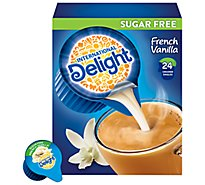 International Delight�Creamer Singles Sugar Free French Vanilla - 24 Count
