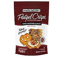 Snack Factory Pretzel Crisps Honey Mustard & Onion - 7.2 Oz