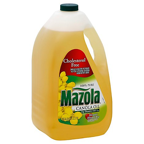 Mazola Canola Oil Cholesterol Free - 1 Gallon