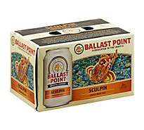 Ballast Point Beer Sculpin IPA India Pale Ale Cans 7.0% ABV - 6-12 Fl. Oz.