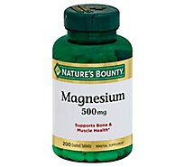 Natures Bounty 500 Mg Value Size Magnesium - 200 Count