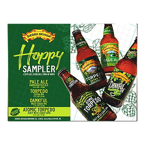 Sierra Nevada Variety Pack In Bottles - 12-12 Fl. Oz.