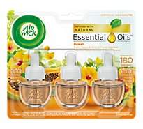 Air Wick Scented Oil Refill National Parks Hawaii - 3-0.67 Fl. Oz.