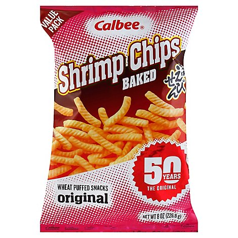 Calbee Value Pack Shrimp Chips - 8 Oz