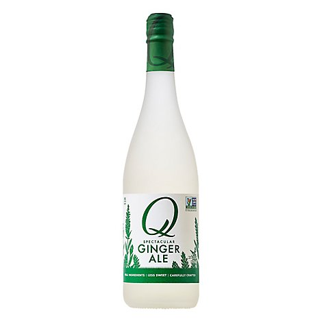 Q Drinks Ginger Ale A Superior - 25.4 Fl. Oz.