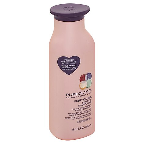 Pureology Pure Volume Shampoo for Fine Colour-Treated Hair - 8.5 Fl. Oz.