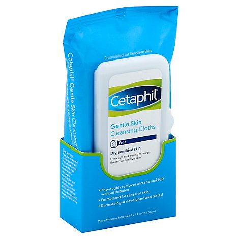 Cetaphil Gentle Skin Cleansing Cloths - Each