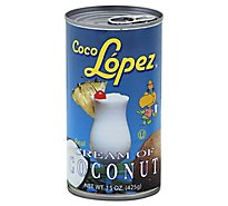 Coco Lopez Real Cream of Coconut - 15 Fl. Oz.