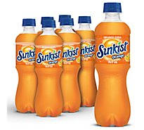 Sunkist Soda Orange - 6-16.9 Fl. Oz.