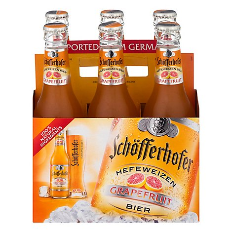 Schofferhofer Grapefruit Hefeweizen In Bottles - 6-11.2 Fl. Oz.