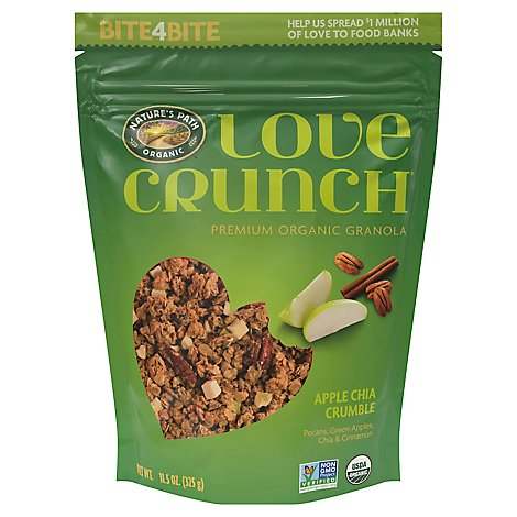 Natures Path Organic Love Crunch Granola Apple Crumble - 11.5 Oz