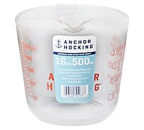 Anchor Measuring Cup Open-Handle 16 Oz - Each