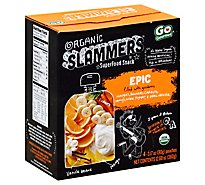 Go Gourmet Slammers Organic Superfood Snack Epic Pouches - 4-3.17 Oz