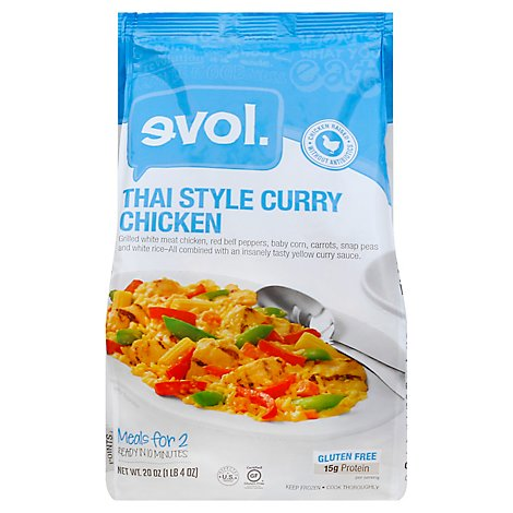 Evol Foods Thai Curry Chicken - 20 Oz