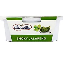 Alouette Cheese Soft Spreadable Smoky Jalapeno - 6.5 Oz