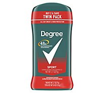 Degree For Men Dry Protection Anti-Perspirant Stick Sport - 2-2.7 Oz