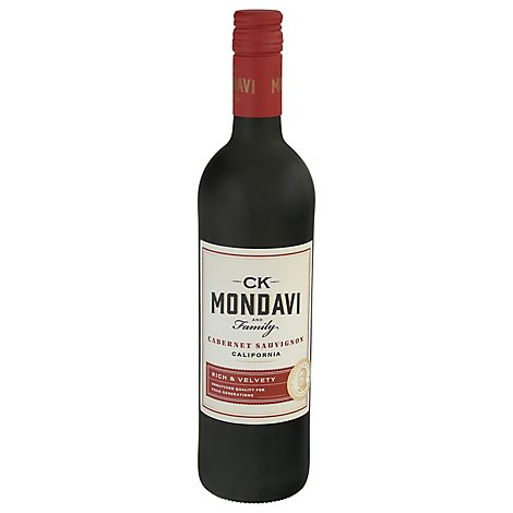 CK Mondavi Wine Cabernet Sauvignon California - 750 Ml