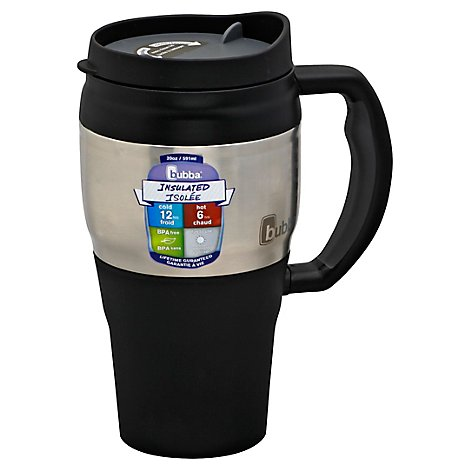 Bubba Tumbler Black Travel 20 Ounce - Each