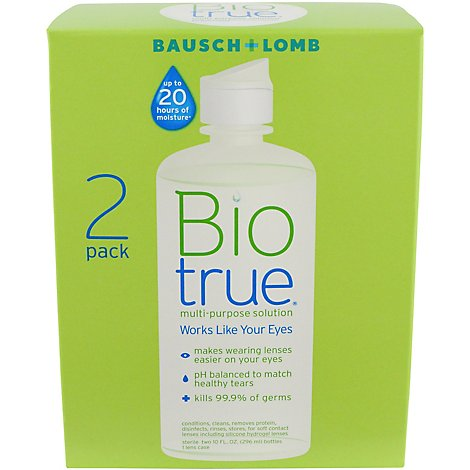 Biotrue Multi Purpose Solution - 2-10 Fl. Oz.