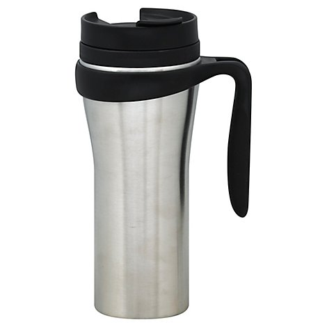 Trudeau Paige Travel Mug Silver - Each