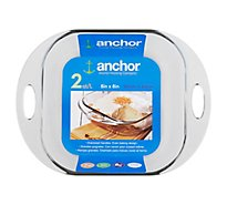 Anchor Bakeware Oversized Handles 8 x 8 Inch 2 Quart - Each