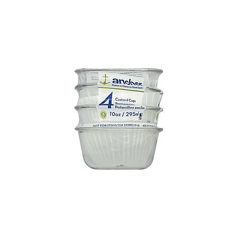 Anchor Hocking Cups Oval 10 Ounce - Each