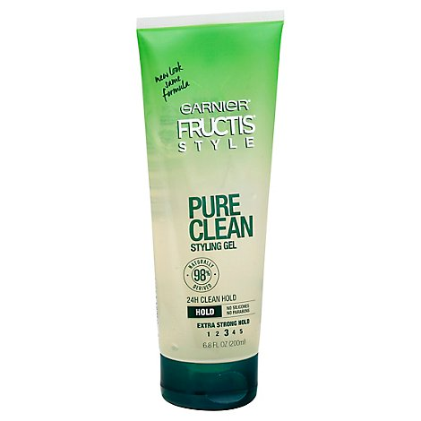 Garnier Fructis Style Styling Gel Pure Clean Extra Strong Hold - 6.8 Fl. Oz.