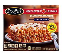 STOUFFERS Satisfying Servings Meal Lasagna Meat Lovers - 18 Oz