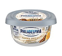 Philadelphia Cream Cheese Spread Honey Pecan - 8 Oz
