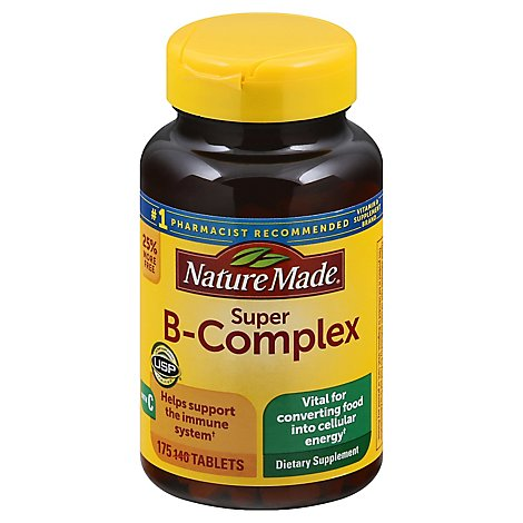 Nature Made Super B Complex Bb - 175 Count
