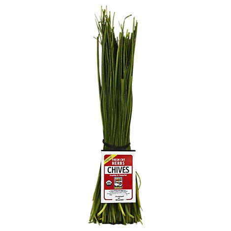 Rocket Chives Organic Fresh Bunch - Each