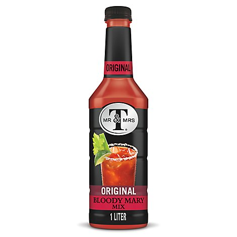 Mr & Mrs T Bloody Mary Mix Original - 1 Liter