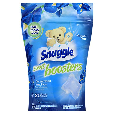 Snuggle Scent Boosters HE Blue Iris Bliss Bag - 14.1 Oz